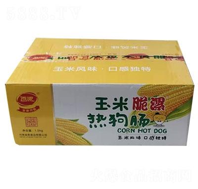 百漯玉米热狗肠箱装产品图