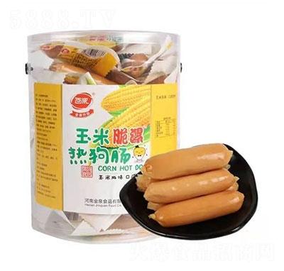 百漯玉米脆漯热狗肠产品图