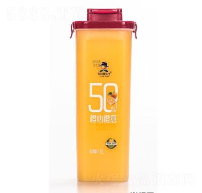 玉川果先生乳酸菌橙汁饮品1.5L