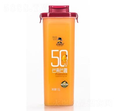 玉川果先生乳酸菌芒果汁饮品1.5L