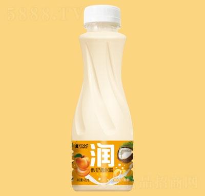 玉川果先生酸奶西米露(黄桃粒+椰果)420ml