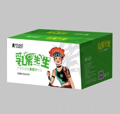 乳果先森芒果乳酸菌果蔬汁饮品(箱)