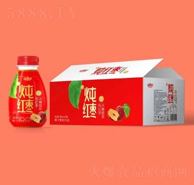 维果命炖红枣果汁果粒饮料380mlX15