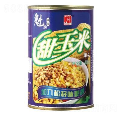 魁牌甜玉米罐�^410g�a品�D