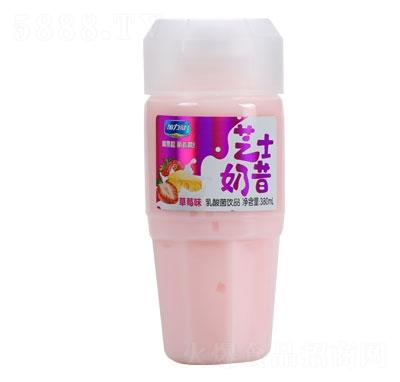 加力健芝士奶昔草莓味380ml