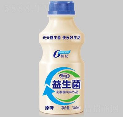 睿田益生菌乳酸菌饮品原味340ml