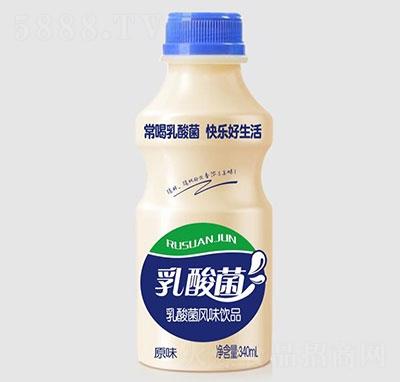 睿田乳酸菌饮品原味340ml