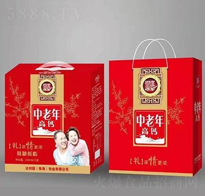 达利园福中老年高钙风味饮品礼盒