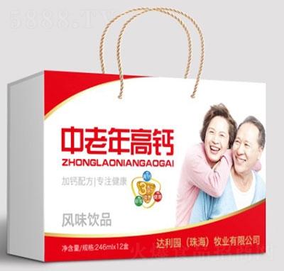 达利园中老年高钙风味饮品礼盒装