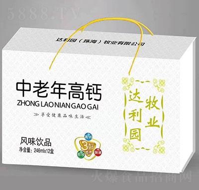 达利园中老年高钙风味饮品礼盒246mlx12
