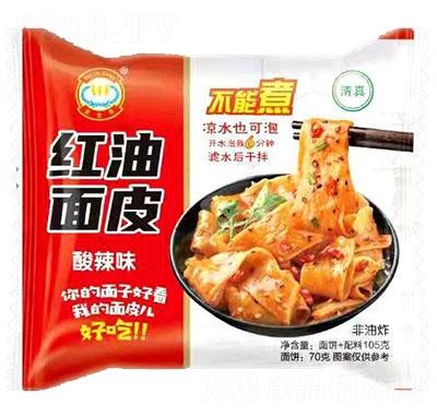 麦金香红油面皮酸辣味105g