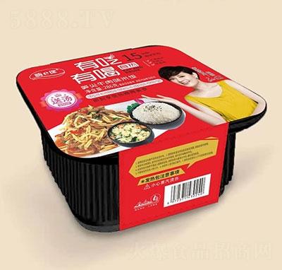 嗨e课笋尖牛肉自热米饭