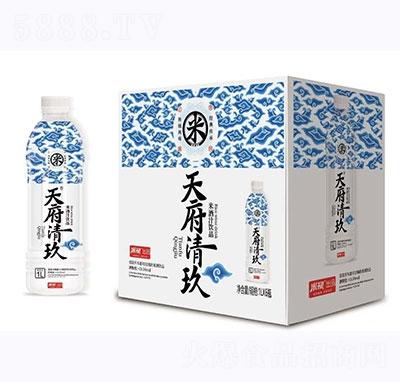 天府清玖米酒汁�品1L�a品�D