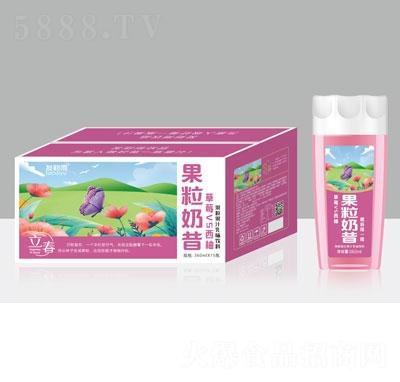 发财雨果粒奶昔草莓VS西柚乳味饮料360mlX15