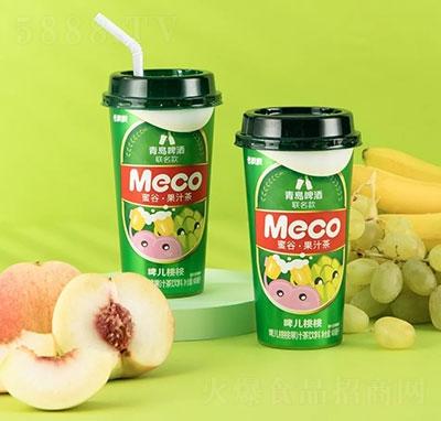 香飘飘Meco蜜谷啤儿桃桃果汁茶