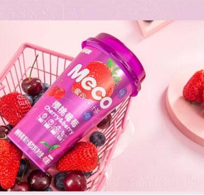 香飘飘Meco樱桃莓莓果汁茶