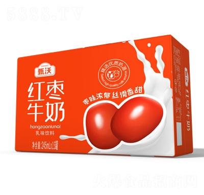 甄沃红枣牛奶乳味饮料245mlX15