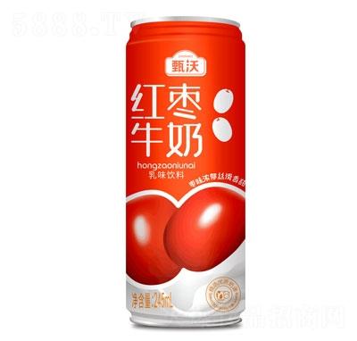甄沃红枣牛奶乳味饮料245ml