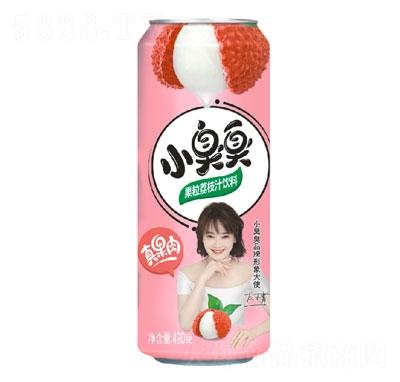 小臭臭果粒荔枝汁饮料490g