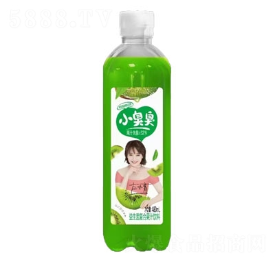 小臭臭益生菌复合果汁饮料猕猴桃味480ml