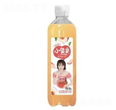 小臭臭益生菌复合果汁饮料蜜桃味480ml