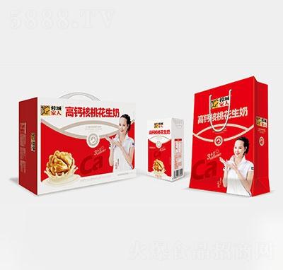 蓉城家人高钙核桃花生奶礼盒