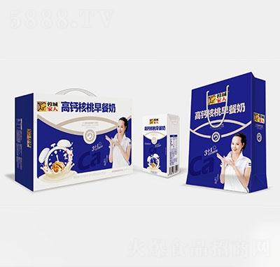 蓉城家人高钙核桃早餐奶礼盒