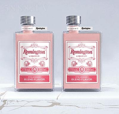 雷明顿草莓牛奶利口酒380ml