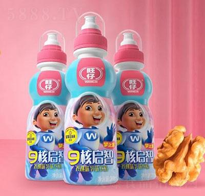 旺仔9核启智核桃味乳味饮料200ml