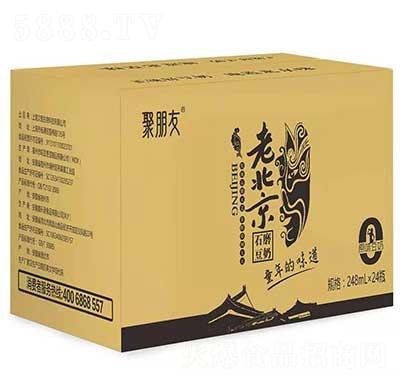 聚朋友老北京石磨豆奶248mlx24瓶
