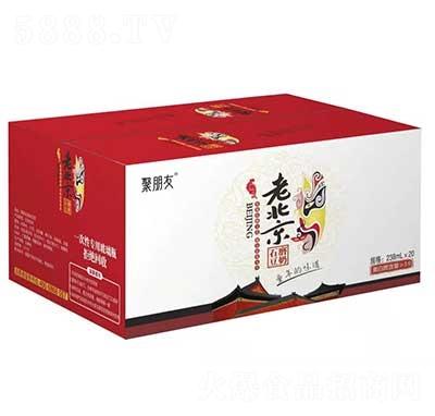 聚朋友老北京石磨豆奶238mlx20