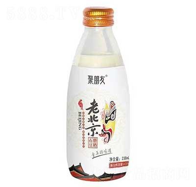 聚朋友老北京石磨豆奶238ml