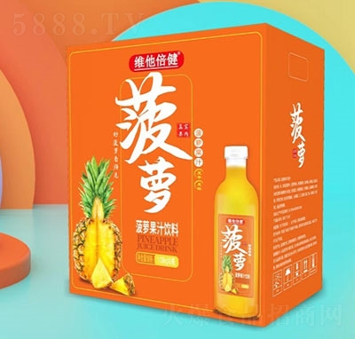 维他倍健菠萝果汁饮料(箱)