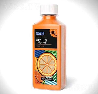 益植�胡�}卜橙果蔬汁�料1.28L
