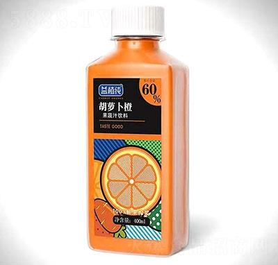 益植�胡�}卜橙果蔬汁�料400ml