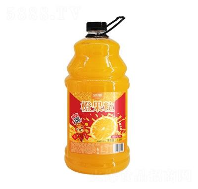 �口妙橙果粒橙汁�料2.5L