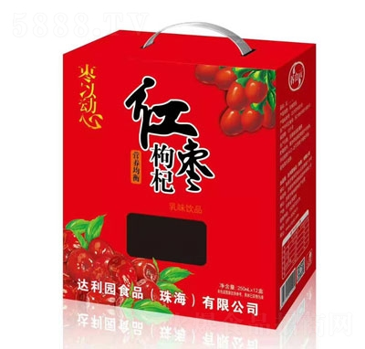 养力元红枣枸杞乳味饮料250mlX12
