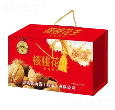 核桃花生乳味饮品(礼盒)