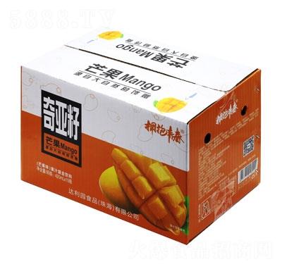 拥抱青春奇亚籽果汁复合饮料芒果味420mlX15