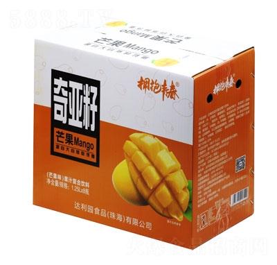 拥抱青春奇亚籽果汁复合饮料芒果味1.25LX8