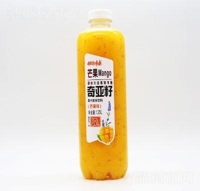 拥抱青春奇亚籽果汁复合饮料芒果味1.25L