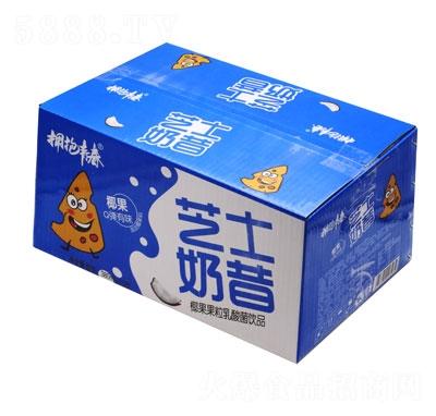 拥抱青春芝士奶昔椰果果粒乳酸菌饮品380mlX15