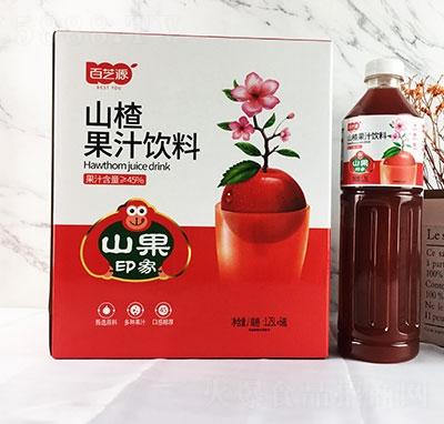 百芝源山楂果汁饮料1.25Lx6