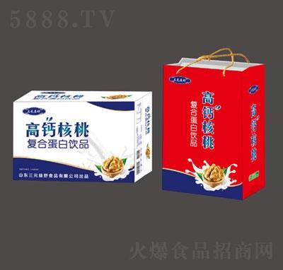 三元益舒高钙核桃复合蛋白饮品产品图