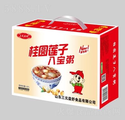 三元益舒桂圆莲子八宝粥(箱)产品图