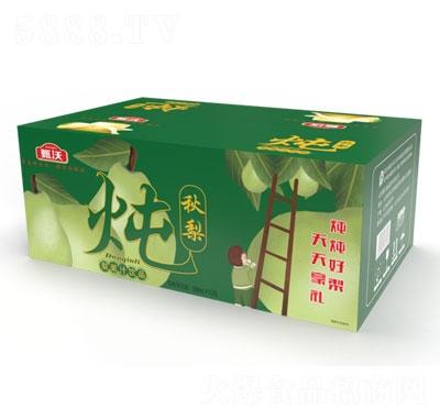 甄沃炖秋梨梨果汁饮料388mlX15瓶