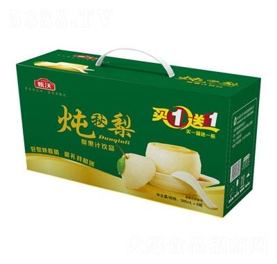 甄沃炖秋梨梨果汁饮料388mlX8瓶