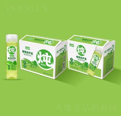 益和源葡萄炖芦荟复合果汁饮料430mlX15