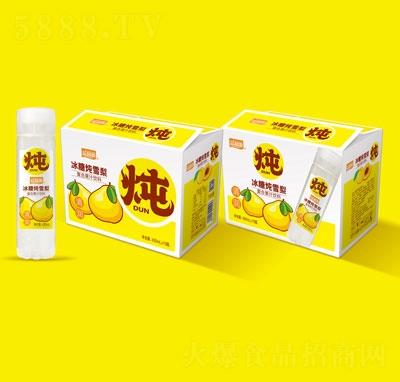 益和源冰糖炖雪梨复合果汁饮料430mlX15
