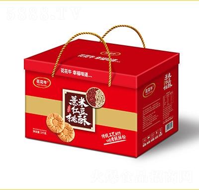 花花牛薏米红豆桃酥2kg